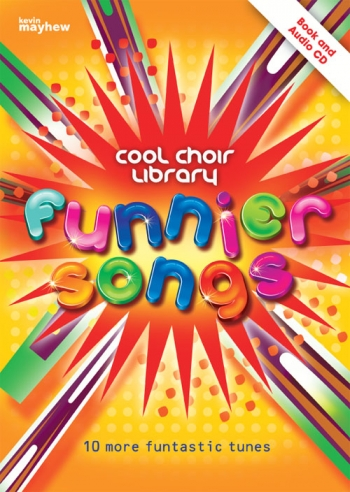 Cool Choir Library: Funnier Songs: Book And CD