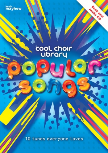 Cool Choir Library: Popular Songs: Book And CD