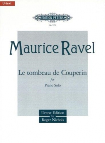 Le Tombeau De Couperin: Piano  (Peters)