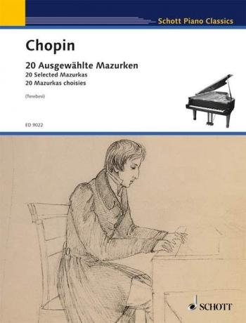 20 Selected Mazurkas: Piano (Terebisi) (Schott)