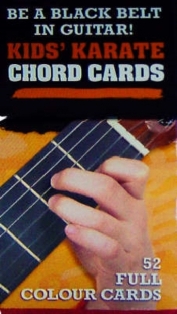 Kids Karate Chord Cards: 52 Full Colour Cards