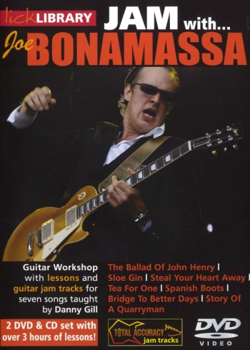Lick Library: Jam With Joe Bonamassa: DVD