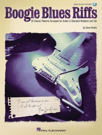 Boogies Blues Riffs: Guitar: Book And Cd