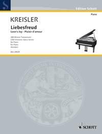 Liebesfreud: Loves Joy: Piano (Schott)