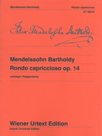 Rondo Capriccioso Op.14: Piano  (Wiener Urtext)