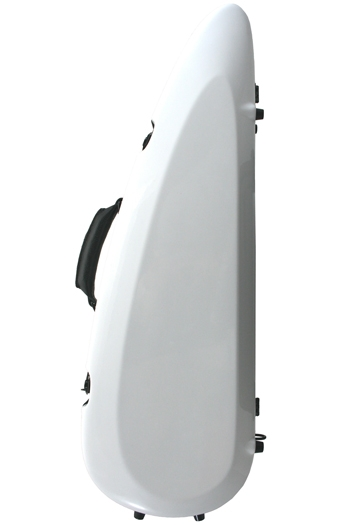Sinfonica White Rocket Fibreglass Violin Case