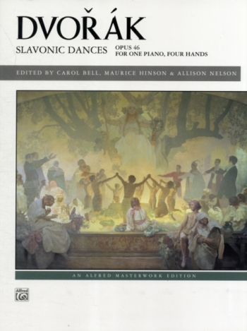 Slavonic Dances: Op.46: Piano Four Hands (Alfred)