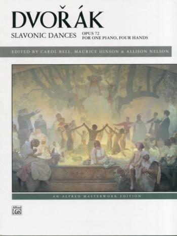 Slavonic Dances: Op.72: Piano Four Hands (Alfred)