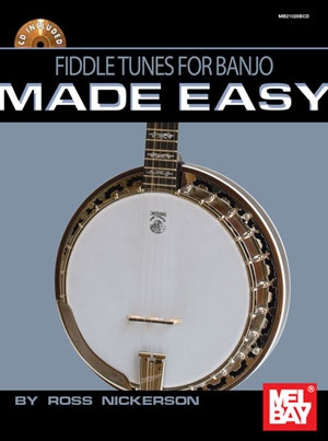 Fiddle Tunes For Banjo Made Easy: Book & Cd