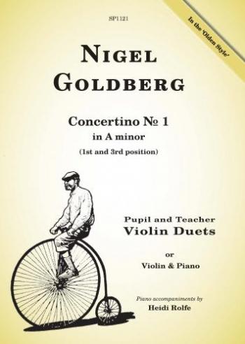Concertino No. 1: A Minor: Pupil And Teacher Violin Duets