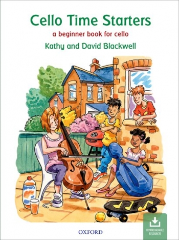 Cello Time Starters Book & Download (Blackwell) (Oxford)