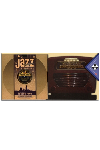 Flip Side 3D Record Card With Radio - Jazz Recording