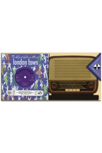 Flip Side 3D Record Card With Radio - London Town People