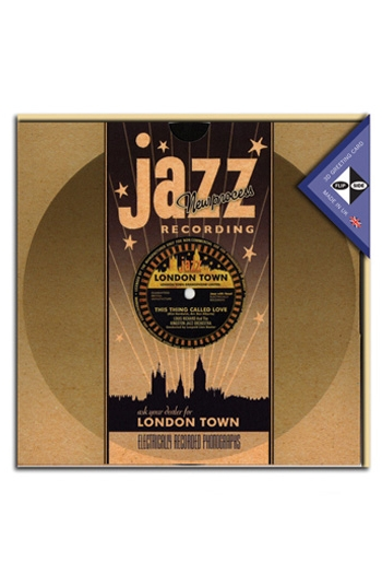 Flip Side 3D Record Card Jazz Recording