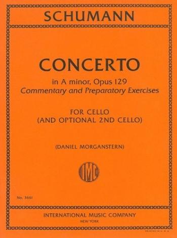 Concerto: A Minor: Op129: Cello (International)