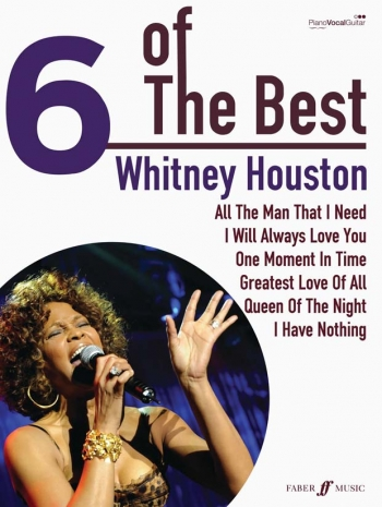 6 Of The Best: Whitney Huston: Piano Vocal Guitar