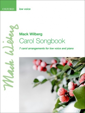 Carols Songbook: Low Voice And Piano