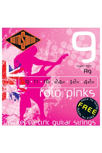 Roto Pinks Super Light Electric Guitar
