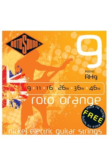 Roto Orange Hybrid Electric Guitar