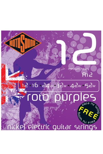 Roto Purples Medium Heavy Electric Guitar