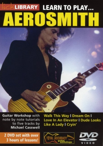 Lick Library: Learn To Areosmith DVD