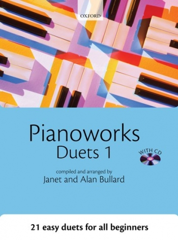 Pianoworks: Duets 1: 21 Easy Duets For All Beginners Bk&CD