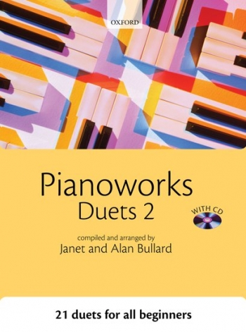 Pianoworks: Duets 2: 21 Easy Duets For All Beginners: Bk&Cd