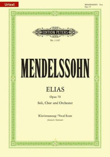Elias (Elijah): Op70: Vocal Score German (Peters)