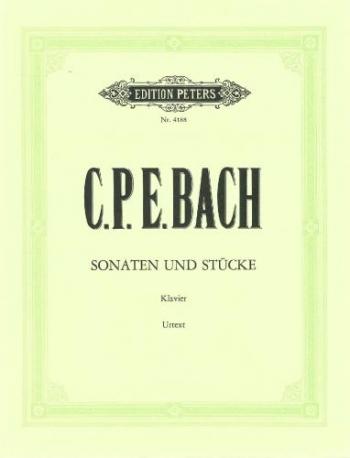 Sonatas & Pieces (Sonaten Und Stuke) Piano (Peters)