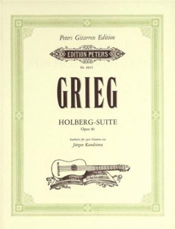Holberg Suite Op40: 2  Guitar