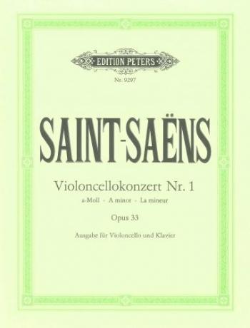 Concerto No.1: A Minor: Op33: Cello & Piano (Peters)