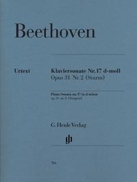 Piano Sonata D Minor Op.31/2 Tempest: Piano  (Henle)