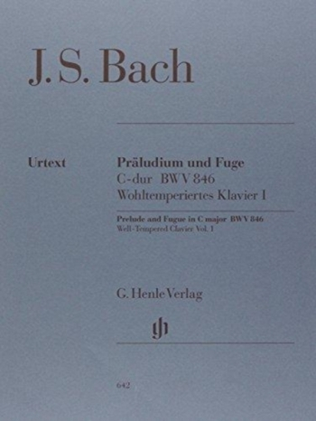 Prelude And Fugue: C BWV846 Piano (Henle)