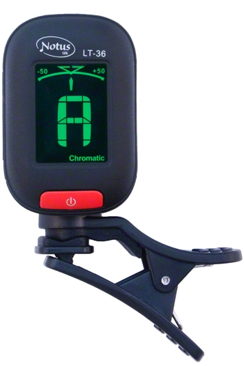 Notus LT36 Mini Clip Chromatic Tuner