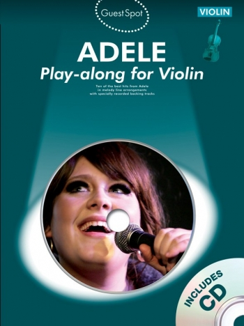 Guest Spot: Adele: Violin: Book & CD