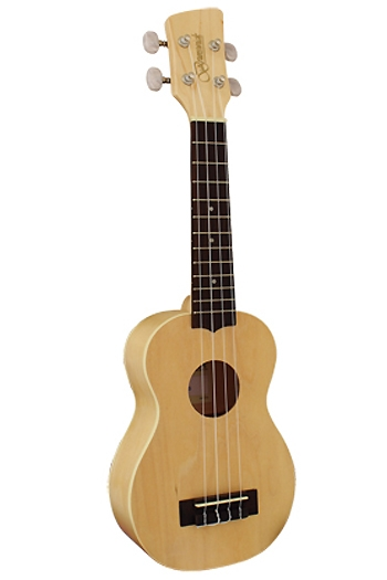 Brunswick BU5S Soprano Ukulele  Blond Finish