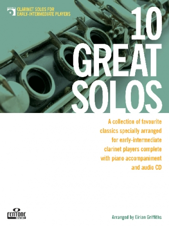 10 Great Solos: Clarinet: Early Intermediate: Book And CD (Cowles)