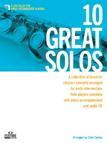 10 Great Solos: Flute: Early Intermediate: Book And CD