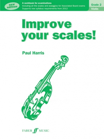 Improve Your Scales Grade 2: Violin (Paul Harris)