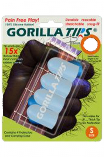 Gorilla Tips Finger Protectors - Small & Clear