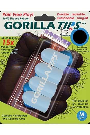 Gorilla Tips Finger Protectors Medium Clear