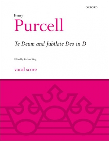 Te Deum And Jubilate Deo In D: Vocal Score