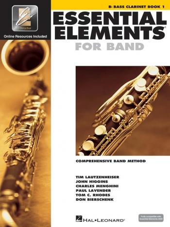 Essential Elements 2000 Book 1: Bass Clarinet: Book & Dvd