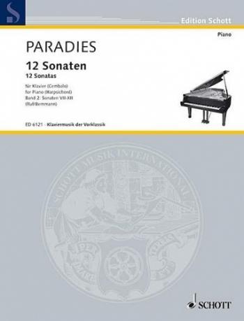 Sonatas For Harpsichord Vol 2 (7-11) (Schott)