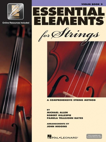 Essential Elements 2000: Book 2: Violin: Tutor Book And CD