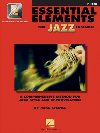 Essential Elements For Jazz Ensemble: French Horn Bk&cd