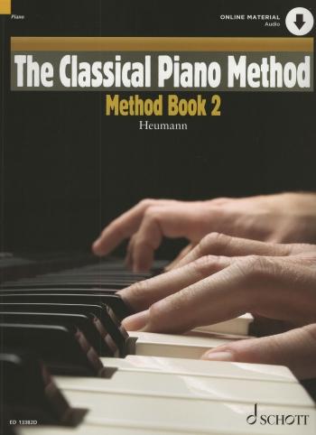 The Classical Piano Method: Method Book 2: Book & Cd (Heumann)