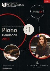 London College Of Music: Piano Handbook: Grade 1: 2013 Onwards LL252