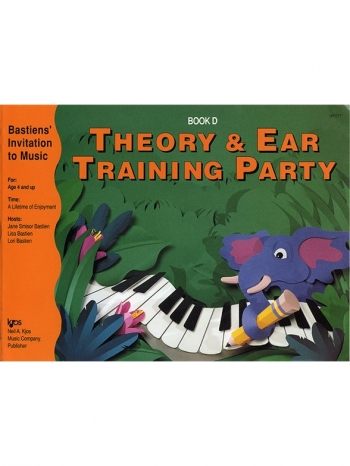 Bastiens Theory And Ear Training Party Book D