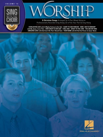 Sing With The Choir: Volume 16: Worship: SATB: Book And Cd